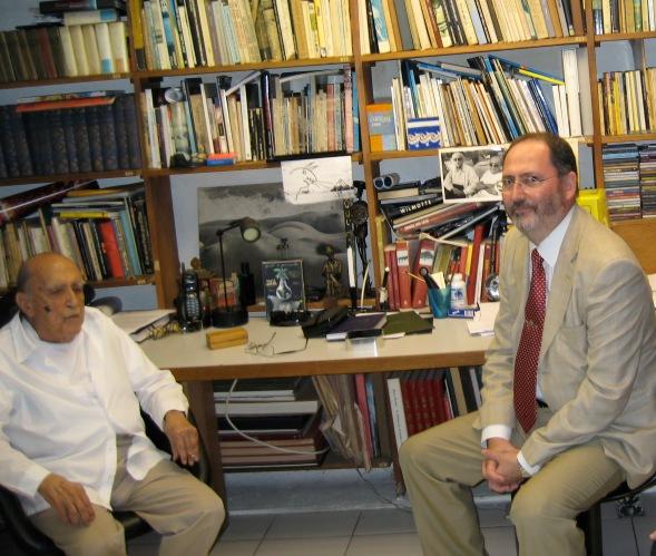 Con D. Oscar Niemeyer