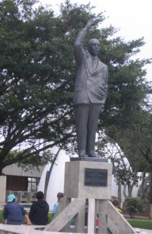 Monumento al político brasileño, en Florianópolis (Santa Catarina)