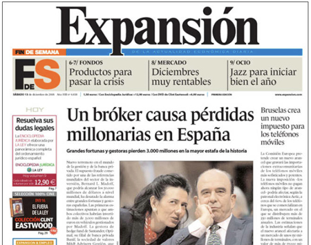 El fraude en Expansion