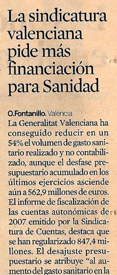 Titular en el diario Expansión
