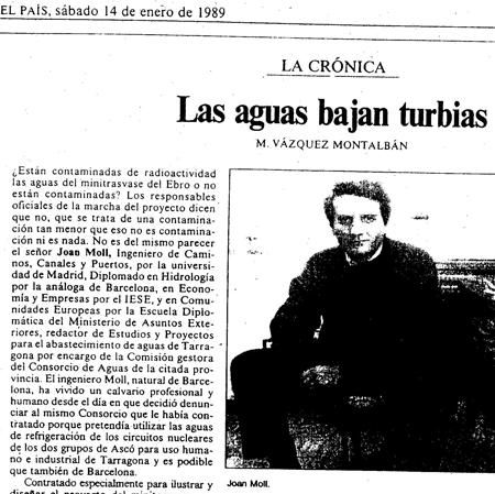 Diario El País, 14-1-1989