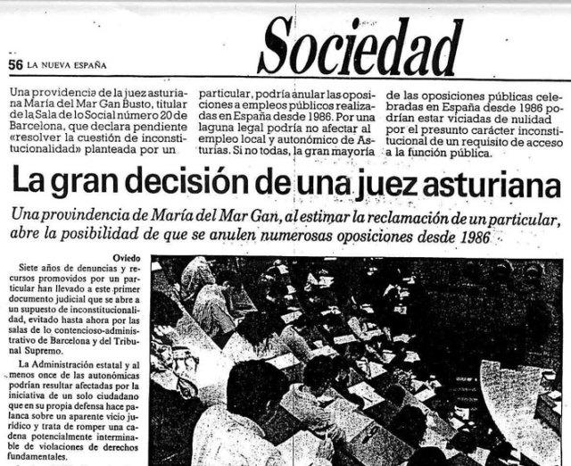 La Nueva España, 1992: Pincha para ampliar