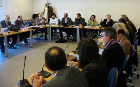 Reunión en Móstoles de Cosnejos Sociales