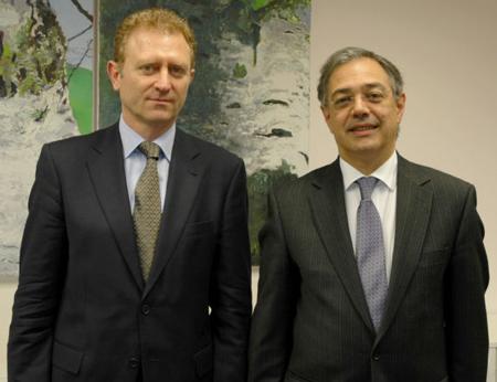 Eduardo Ruiz y Vitor Caldeira