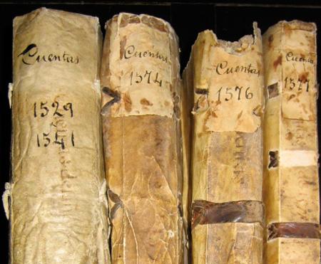 Cuentas de la Universidad de Salamanca 1529 a 1576