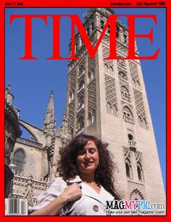 Ana Caro, portada de Time