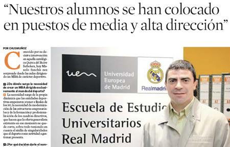 Escuela del Real Madrid!!