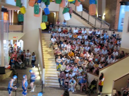 Espectáculo en El Faro