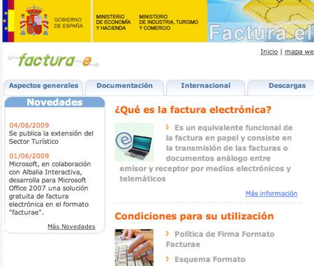 http://www.facturae.es