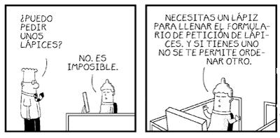 El procedimiento según Dilbert