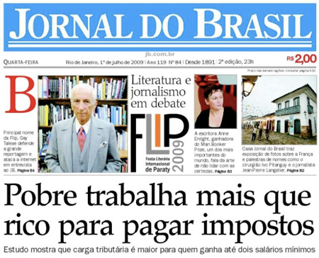 Los ricos también lloran en Brasil
