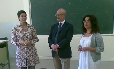 Ana Romero, Juan Manuel del Valle y Ana Caro