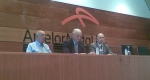 Teodoro López Cuesta, José Manuel Campa y Jaime Rabanal