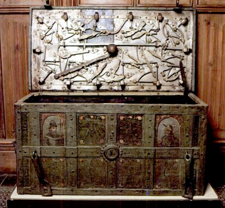 Arca para los caudales de la Universidad de Salamanca