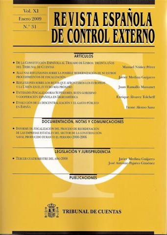 Revista Española de Control Externo nº 31