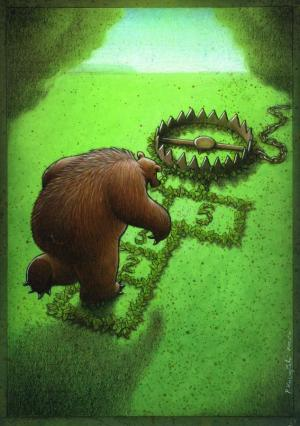 tranpa para osos