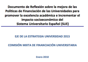 Documento políticas financiacion universidades