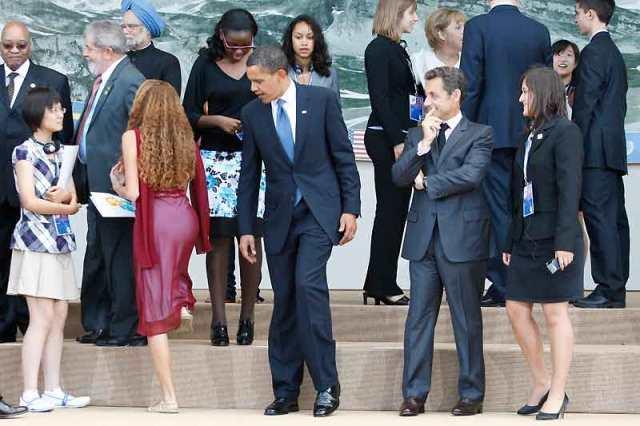 gestos presidenciales