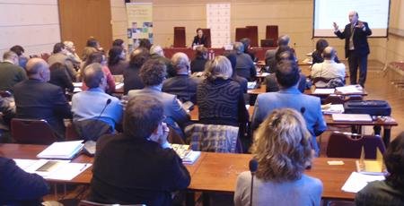 Xavier Gil en su conferencia