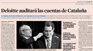 Deloite auditará cataluña