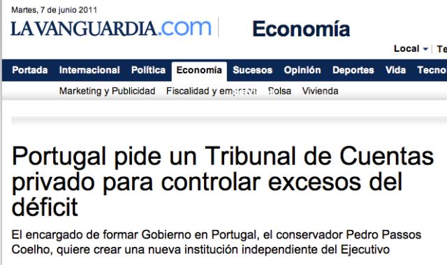 Portugal TCU privado