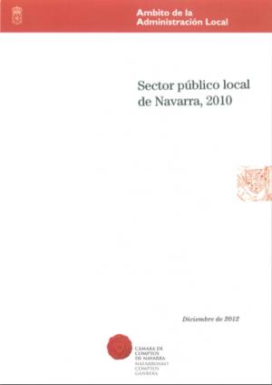 Informe sector local 2010 Camara de Comptos