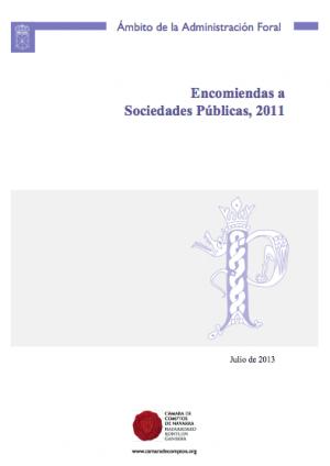 Encomiendas a sociedades publicas 2011
