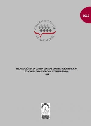 Cuenta General Andalucia 2012