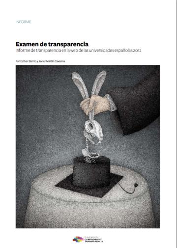 Transparencia 2012-informe FCyT