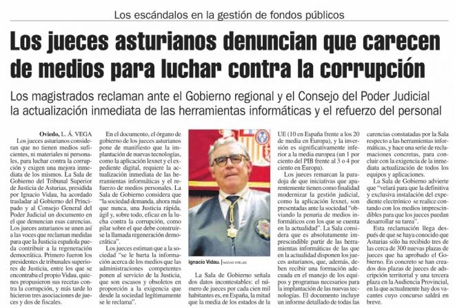 Jueces contra corrupción