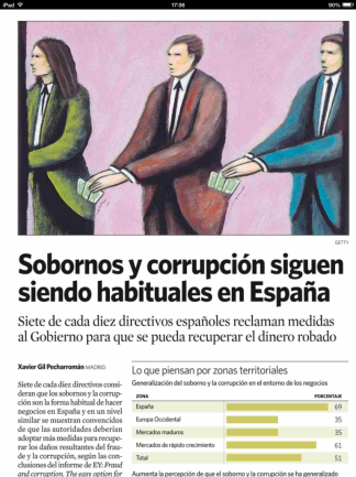 Corrupción EY