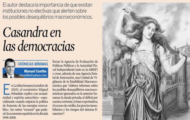 Casandra en las democracias