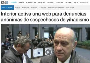 web para denuncias anónimas