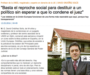Entrevista David Ordoñez