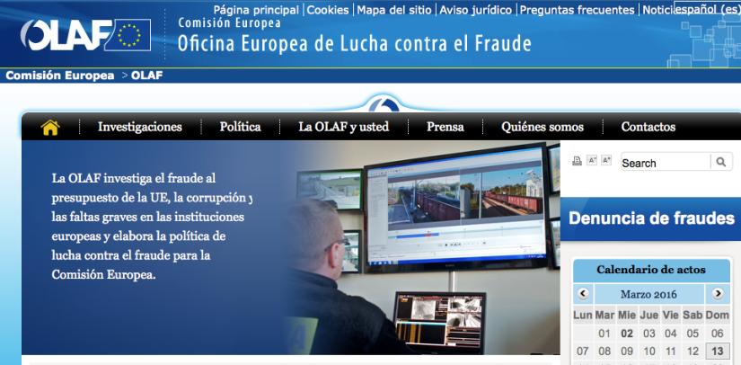 OLAF web