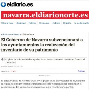 Inventario Navarra