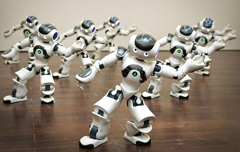 robots-bailando