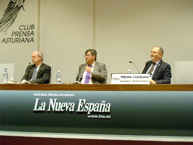La Nueva España - Antonio Arias - José Ramón Chaves - Alfonso Toribio