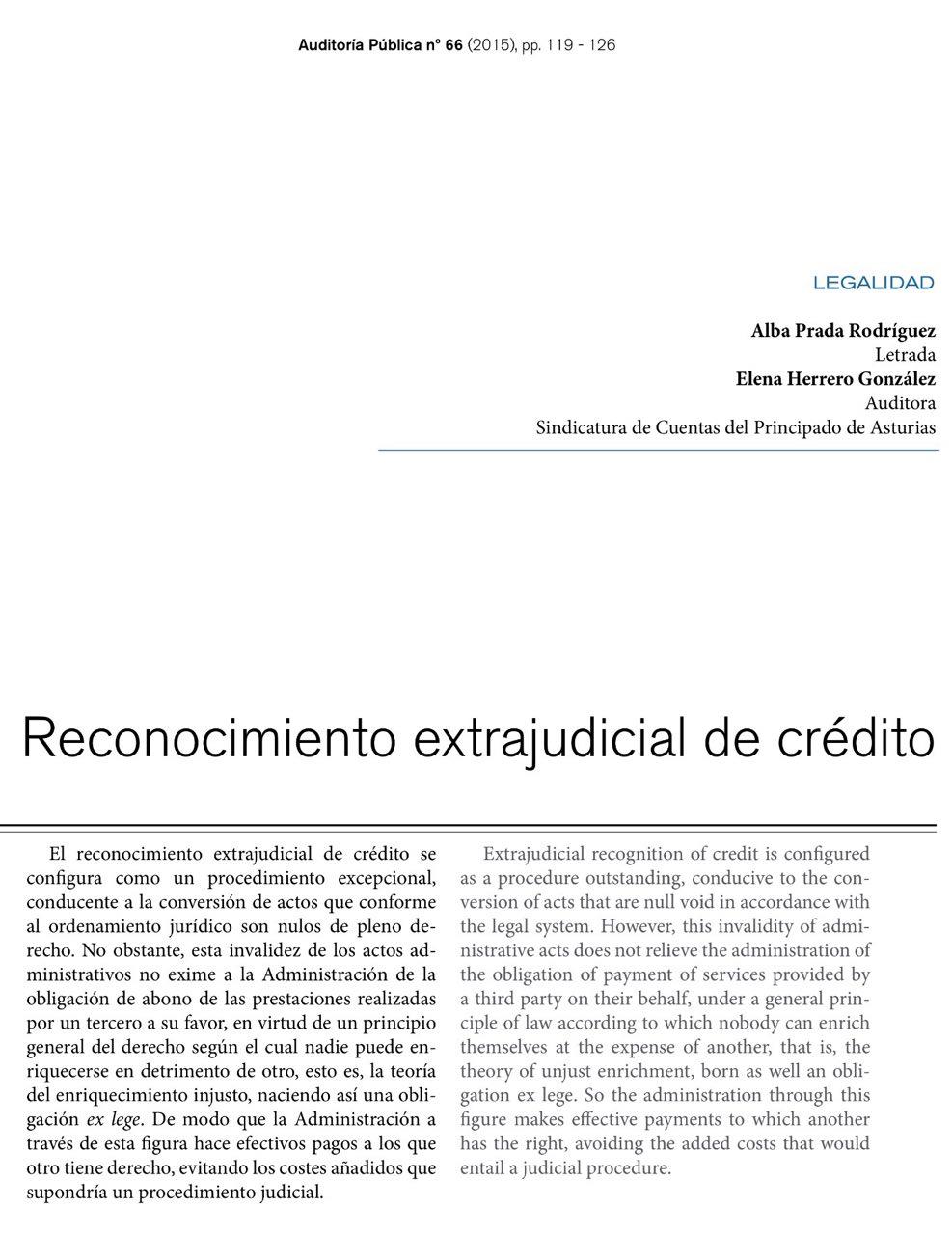 Nulidad judicial del reconocimiento extrajudicial de for Modelo acuerdo extrajudicial clausula suelo